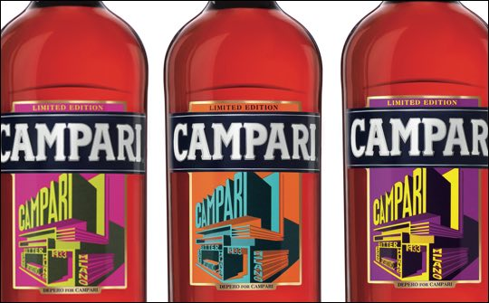 Campari – limitovaná edice Art labels
